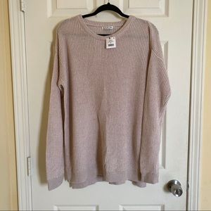 Cotton on beige sweater